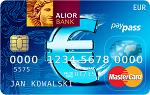 Alior Kantor - Karta EUR