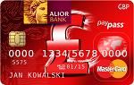 Alior Kantor - Karta GBP