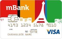 Konto walutowe mBank - karta EUR