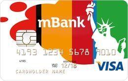 Konto walutowe mBank - karta USD