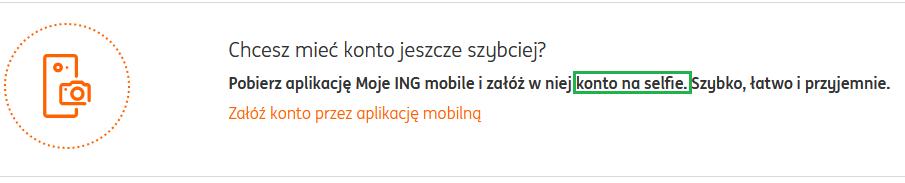Konto na selfie w ING Bank Śląski